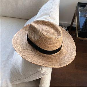 Wide Brim Straw Hat - S/M